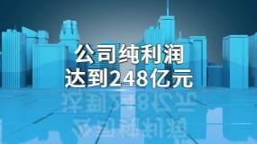 【原创】蓝色科技城市文字数据AE模板