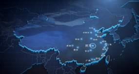 世界地图AE模板AE模板