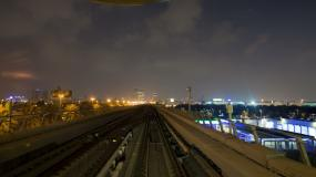 穿梭城市、现代化视频素材