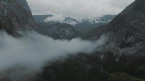 云海山峦山峰奇观视频素材