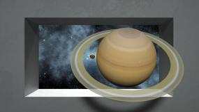4K裸眼3d星球穿梭-视频素材视频素材