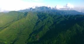 云南哀牢山脉大山森林航拍视频素材