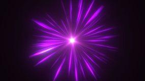 紫色光线漩涡能量汇聚 2视频素材
