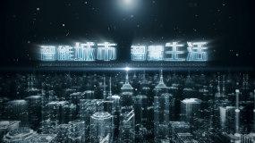 科技篇章科技城市科技标题AE模板