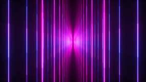 4K霓虹光线02视频素材