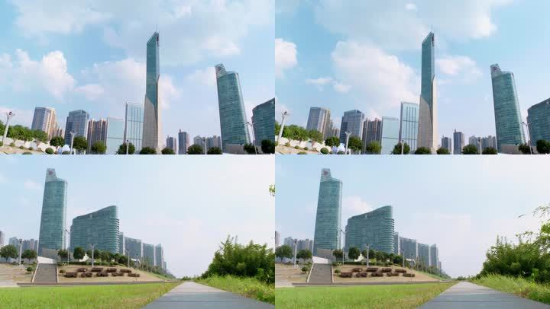 【4K延时】长沙核心区