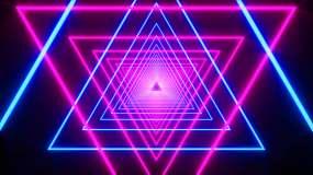 4K霓虹光线03视频素材