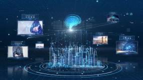 【原创】智慧城市大脑图片展示ae模板AE模板