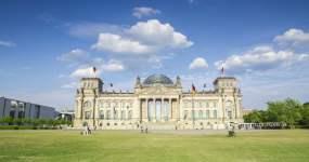 柏林帝国大厦延时摄影4K视频素材