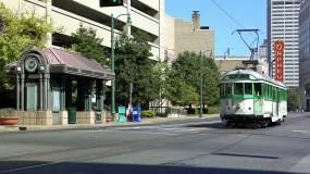 美国田纳西州孟菲斯街道视频素材