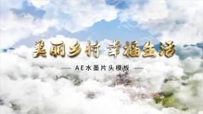 水墨中國風 片頭圖片 視頻 AE模板AE模板