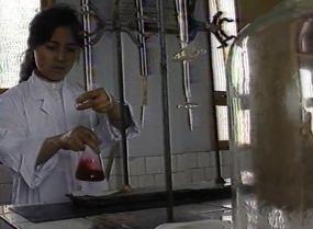 90年成都实验化学工厂视频素材
