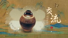 水墨历史文物展示AE模板