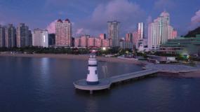 珠海爱情邮局航拍合辑视频素材
