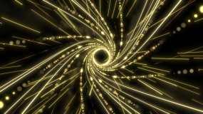 宇宙时空隧道穿梭(4)视频素材