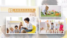 105图学生活动纪念相册展示AE模板