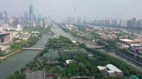 广州东山湖4k视频素材