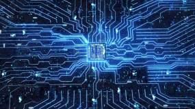 【原创】人工智能大数据计算机电子芯片视频素材