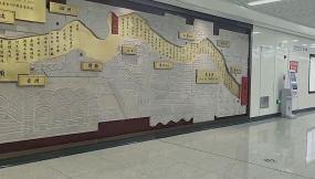 地铁站壁画视频素材