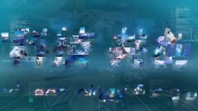 科技宣传图片汇聚片头AE模板AE模板