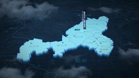 榆林三维地图AE模板AE模板