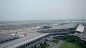 长沙黄花机场视频素材
