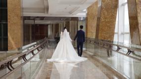 婚礼摆拍视频素材