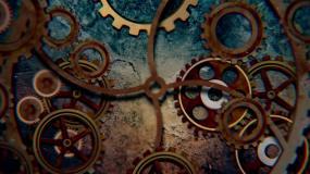 工业机械齿轮视频素材