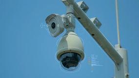 摄像头 监控 安防 公安 智慧警务视频素材