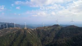 绿色能源  青山视频素材