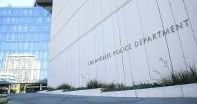 洛杉矶警察局总部视频素材
